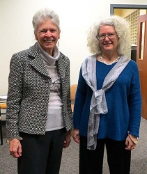 42. Joan Steitz and Kathleen Hall.jpg
